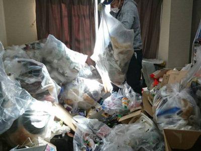 4年間溜めたゴミ屋敷のお片付け(作業時間5時間)